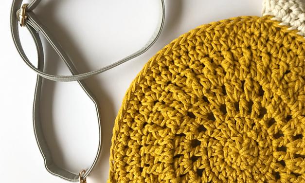 Crochet a Gorgeous Summer Mandala Bag Designed By Little Duck Crochet