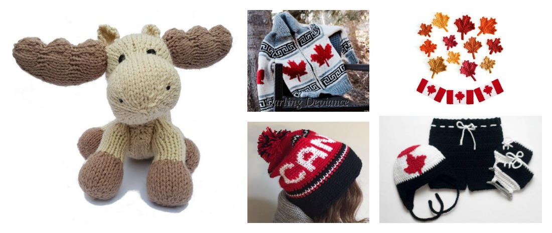 Designer Spotlight: Canada Day Happens July 1st, What Are You Knitting or Crocheting To Celebrate?