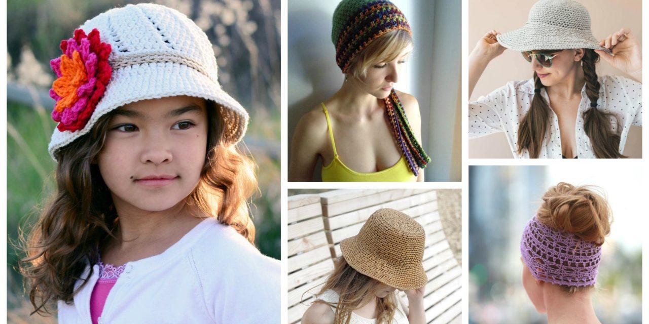 Designer Spotlight: Cute Crochet Summer Hat Patterns!