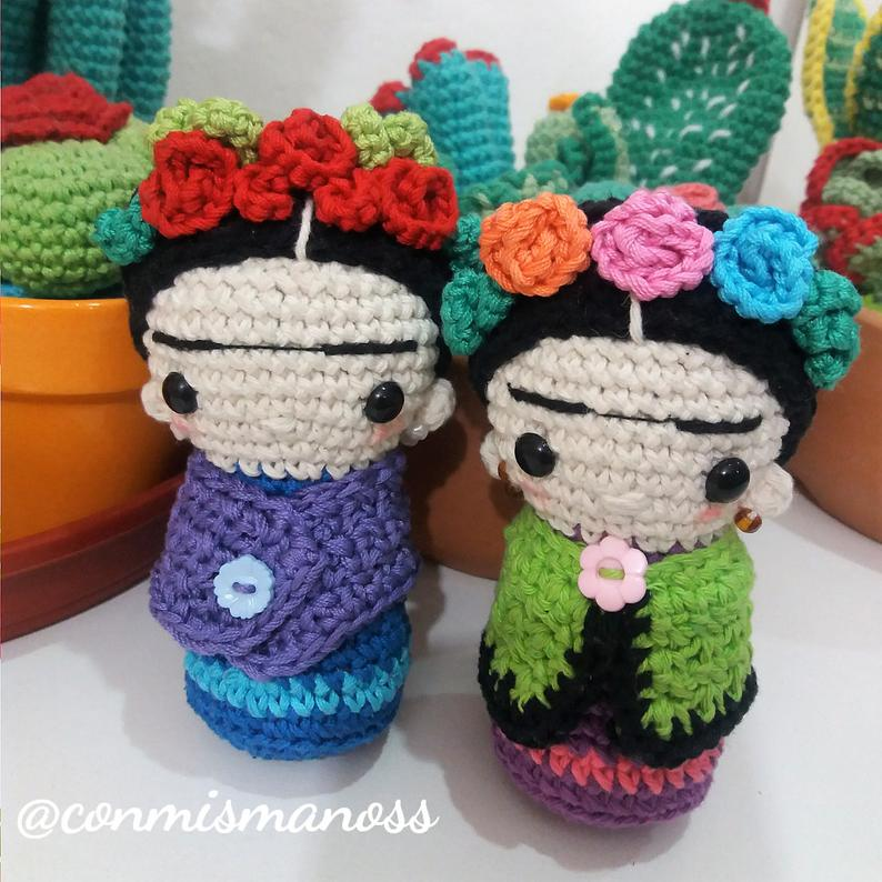 Get the Frida Kahlo-Inspired Pattern!
