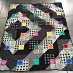 Crochet a Colored Square Blanket Crochet Pattern by Atelier Sopra … It's Not As Complicated As It Looks!