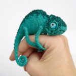 Crochet a Chameleon Amigurumi With Amazing Eyes … This is a Must-Make!