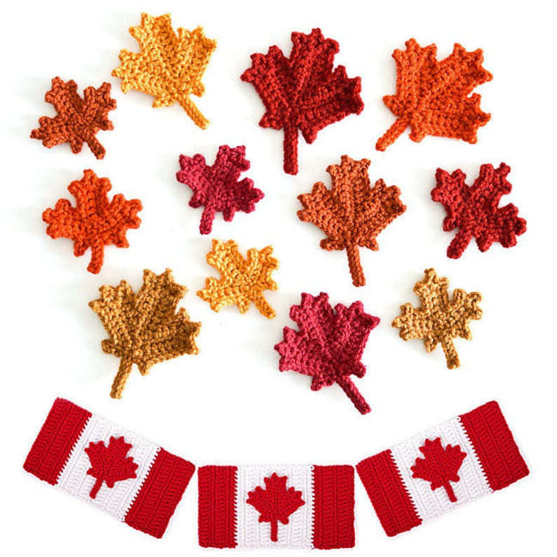 Canada Day Happens July 1st, What Are You Knitting or Crocheting To Celebrate?