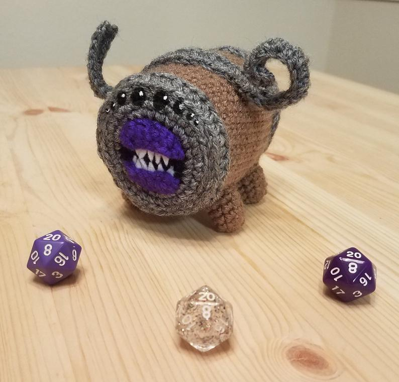 Get the Dungeons & Dragons crochet amigurumi pattern