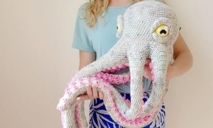 Crochet an Apollo the Octopus … So Incredible, You Have To See To Believe!