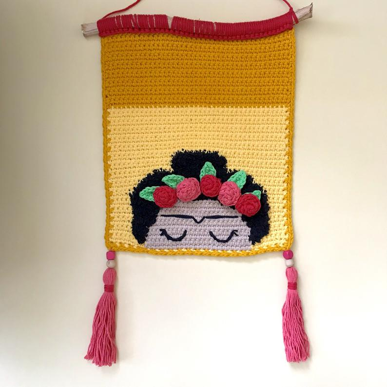 Crochet a Frida Kahlo Amigurumi Flower Vase … It Transforms From ... | 794x794