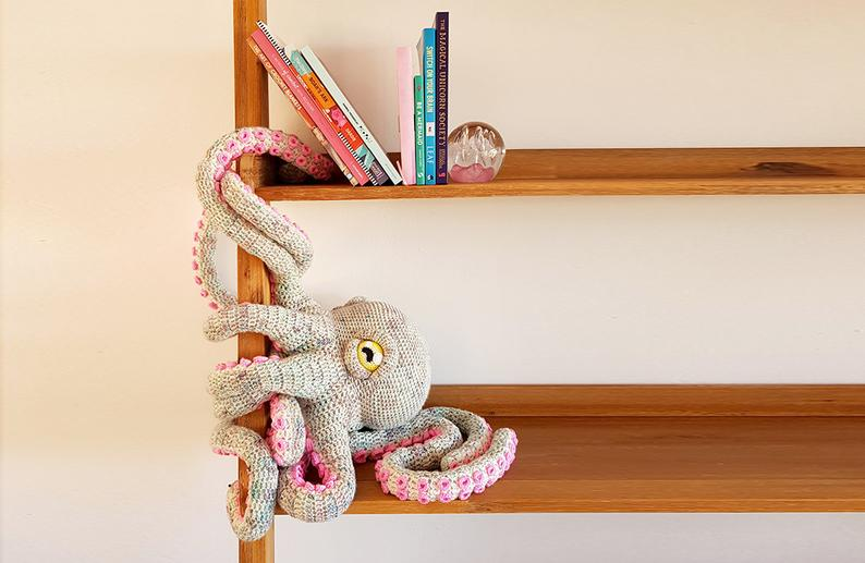 Crochet an Apollo the Octopus ... So Incredible, You Have To See To Believe!