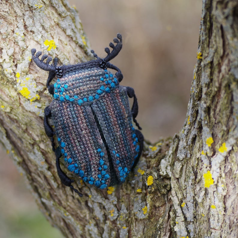 Crochet a Beautiful Beetle Amigurumi ... This is What Craftastic Looks Like!
