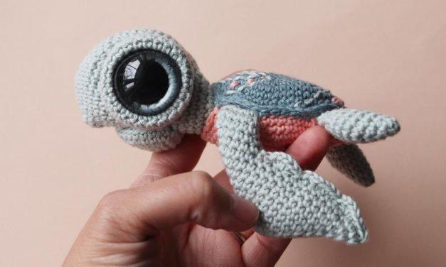 Crochet a Seymour The Sea Turtle Amigurumi, Designed By Irene Strange