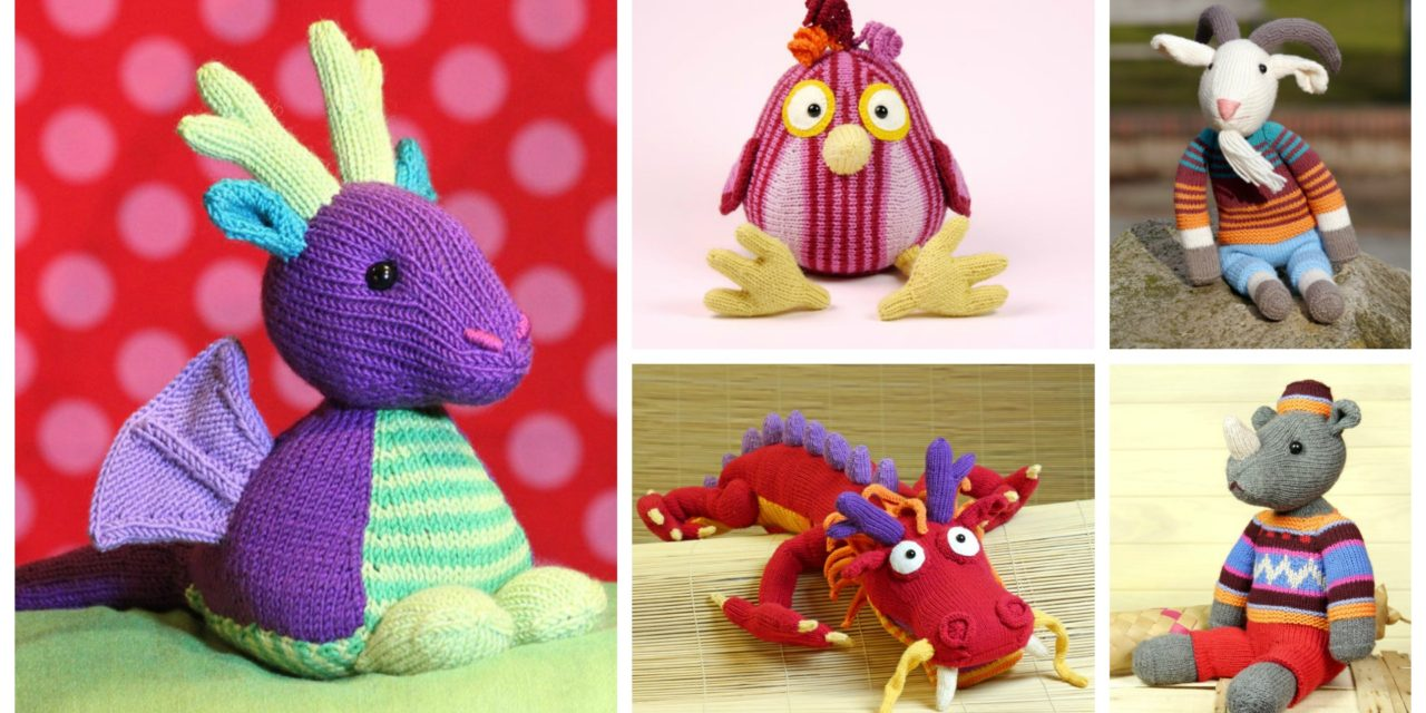 Designer Spotlight: The Most Unique Knit Toys, Amigurumi & More, Patterns By Steffi Hochfellner