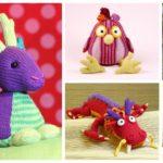 Designer Spotlight: The Most Unique Knit Toys, Amigurumi & More, Patterns By Steffi Hochfellner