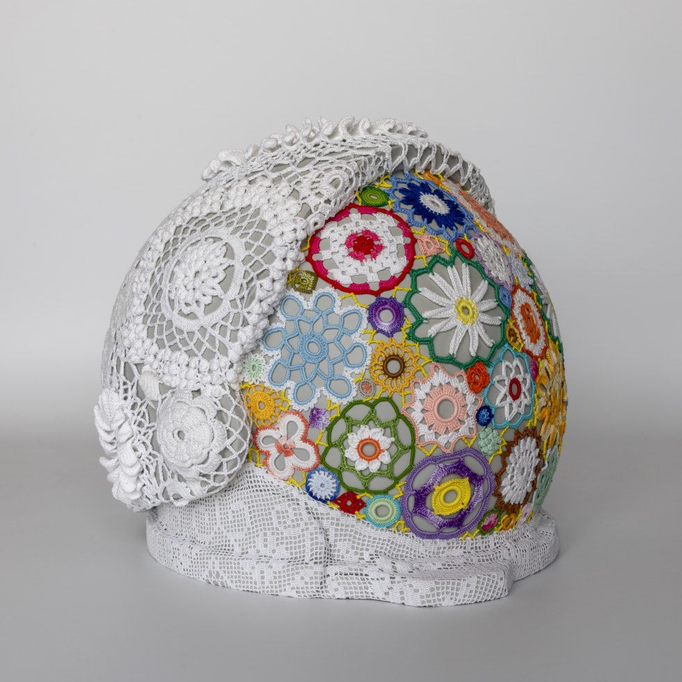 Here's Your Chance To Own An Original Piece of Crochet Art By Joana Vasconcelos And Support A Good Cause