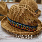 Crochet a Cute Devon Fedora, Must Make For a Baby or an Adult!