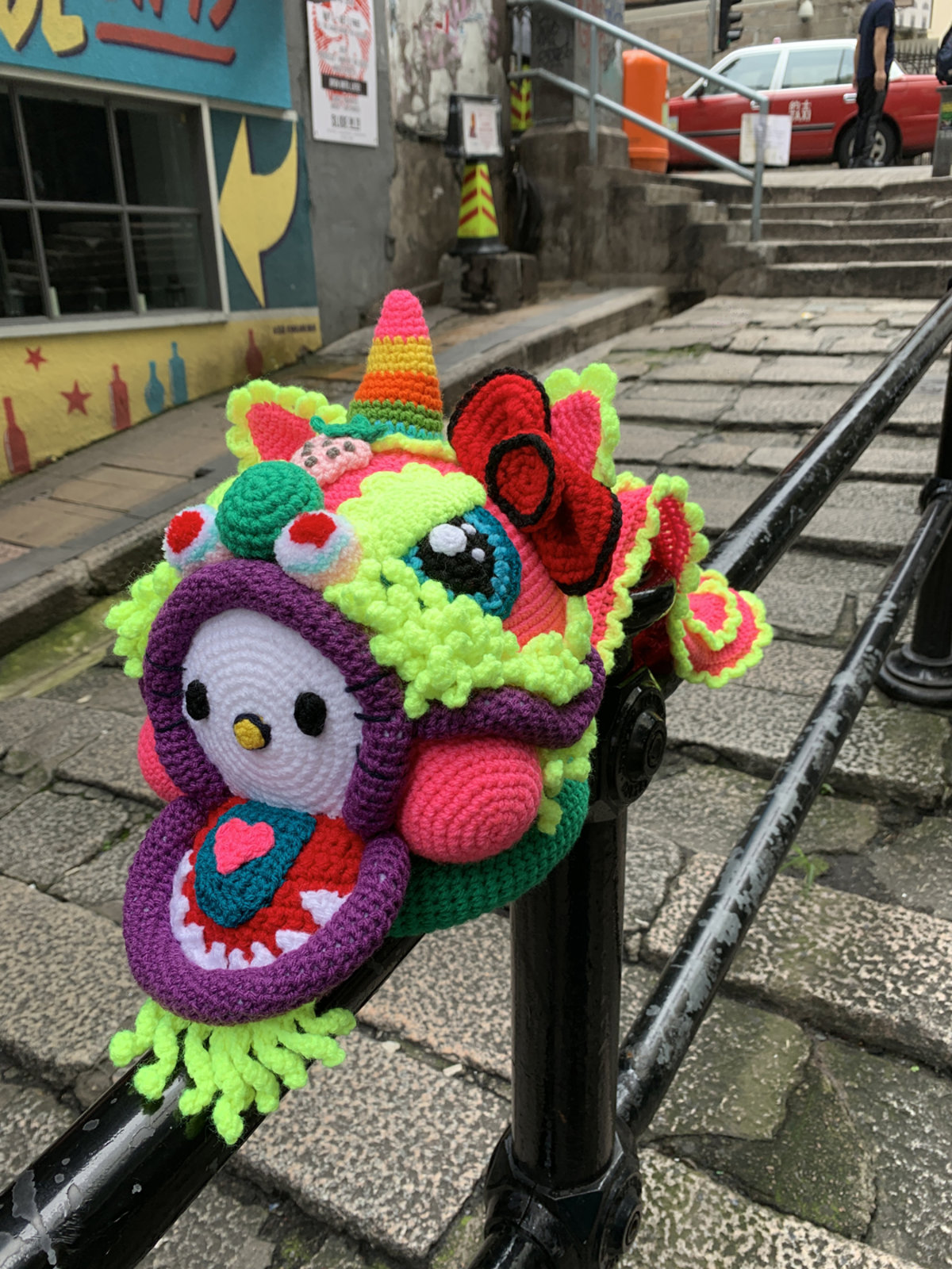 It's the 45th Anniversary of Hello Kitty ... Celebrate With La Belle Epoque's Crochet 'Hello Dance Lion' - It's SPECTACULAR!