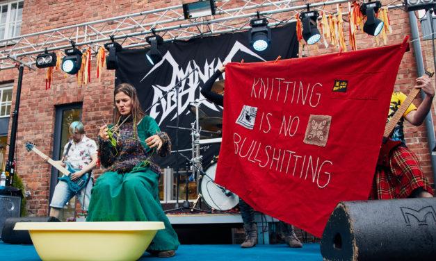 'Knitting Is No Bullshitting' … Awesome Heavy Metal Knitting Gallery By Bahia Ayoubi