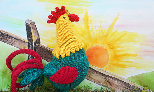 Knit a Good Morning Rooster!