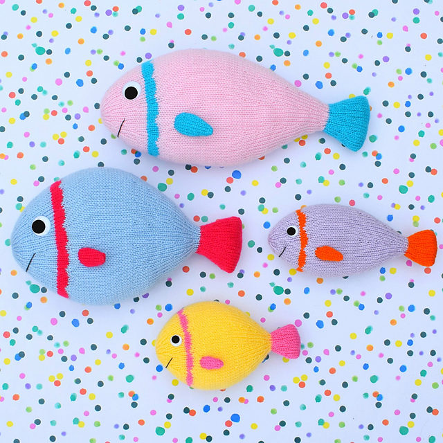 Free Pattern Alert! Fishy Friends by Trish Roberts