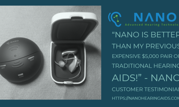 Introducing: Nano's New Model X 2.0 With Rechargeable Technology – Nano Hearing Aids Charge As You Go!