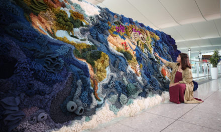 See The Botanical Tapestry In Heathrow Terminal 2 For The Next Six Weeks