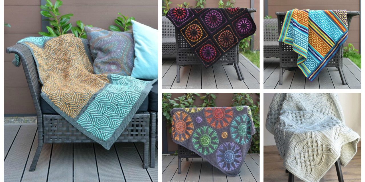 Designer Spotlight: Gorgeous Crochet Afghans Designed By Lilla Björn Crochet
