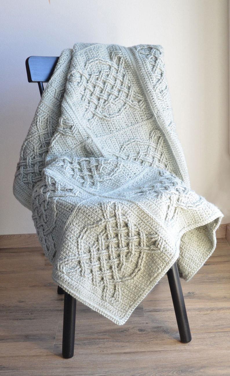 Gorgeous Crochet Afghans Designed By Lilla Björn Crochet #crochet