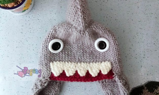 Knit a Nifty Shark Cap … Just In Time For Shark Week!