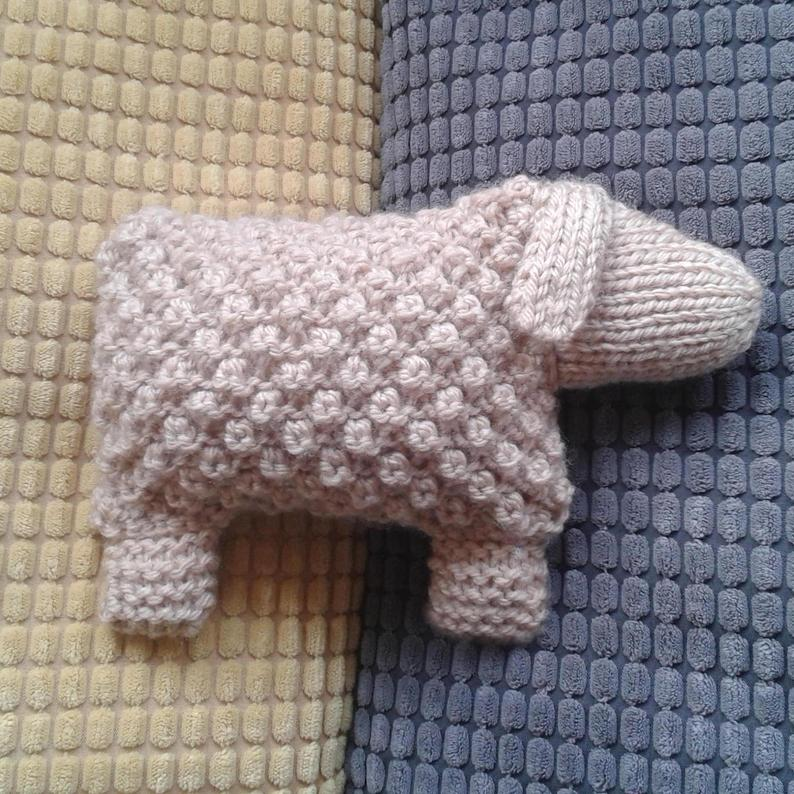 Knit a Welsh Mountain Goat, Makes a Great Gift!