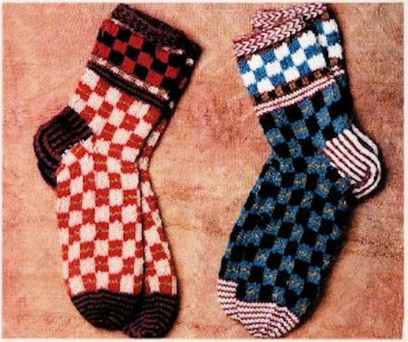 Retro Fun With a Selection of The Best Vintage Socks Patterns