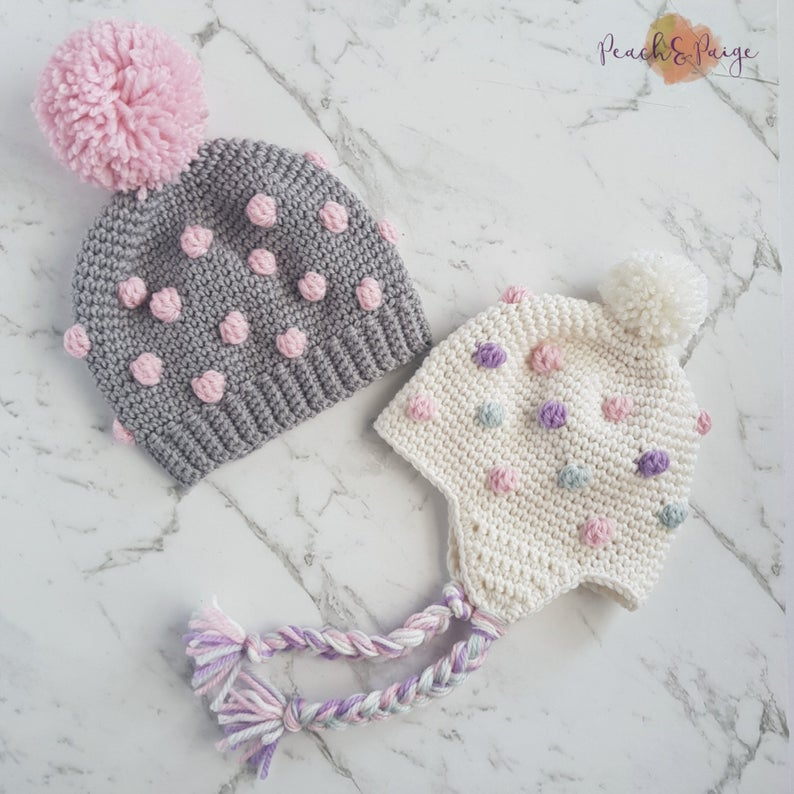 Get the crochet pattern from Jenna Jensen of Peach and Paige Designs