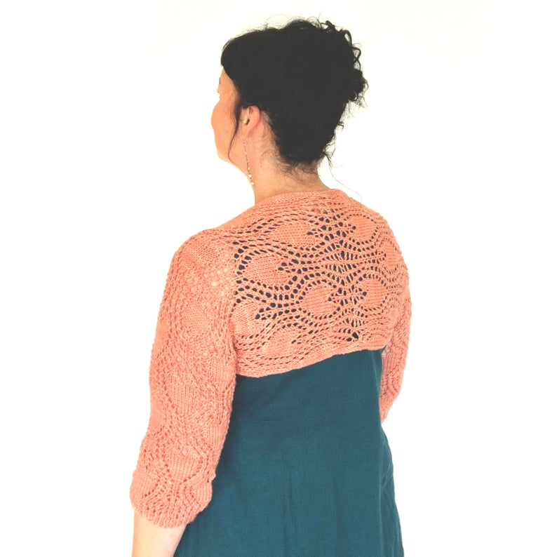 Knit a Valentine Shrug, The Perfect Summer Accessory For Cooler Evenings
