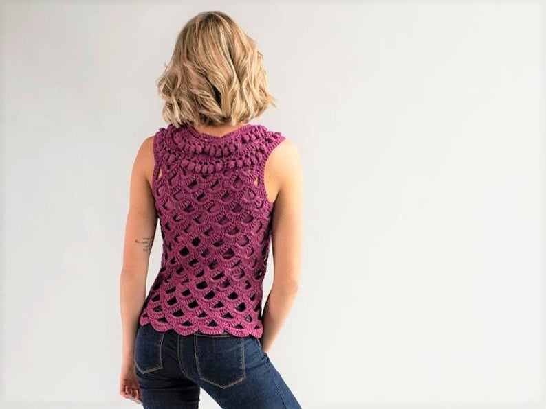 Get the Lovely Lace Look For Summer, Crochet a Cute Joilee Top