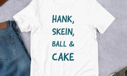 Hank, Skein, Ball & Cake T-Shirt for Knitters & Crocheters … Makes a Great Gift!