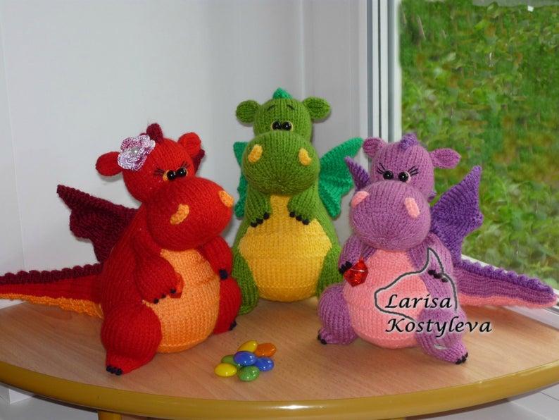 knit amigurumi by Jasmine Toys #knitting
