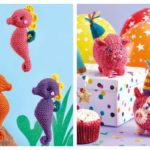 Seahorses and Party Pigs – Two Free Knitting Patterns For YOU!