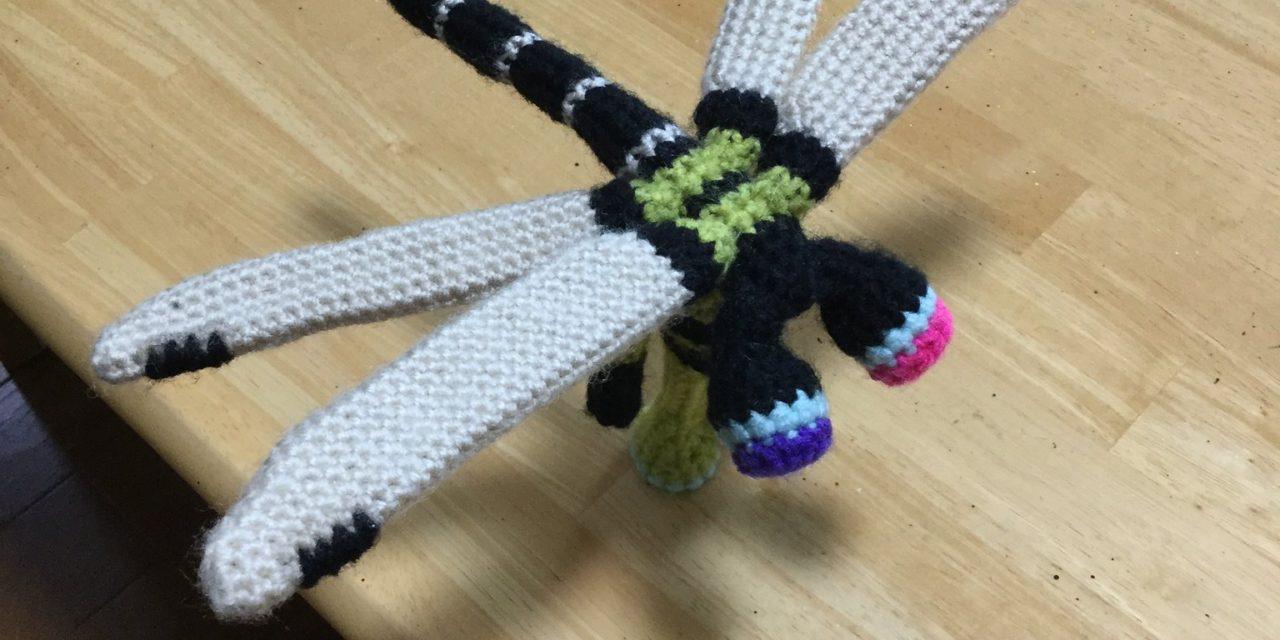Crochet Dragonfly Amigurumi Designed By Makoto Kitazawa