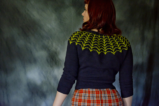 A Knockout Halloween Sweater You Can Wear All Year Long ... Time To Get Knitting!