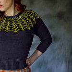 A Knockout Halloween Sweater You Can Wear All Year Long … Time To Get Knitting!