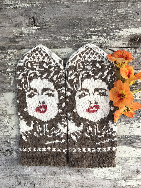 Knit a Pair of Madonna Mittens, Brilliantly Designed By Lotta Lundin