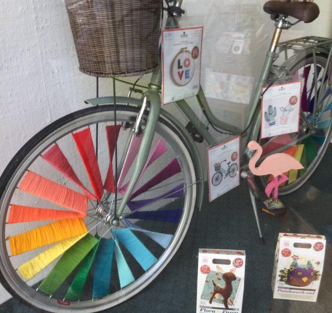Modern Art That's Mobile … Yarn Bomb Your Bike!