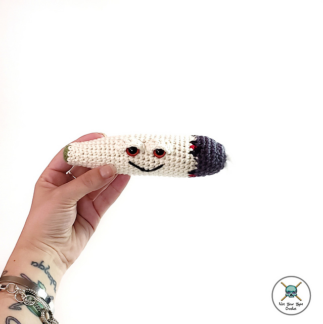 Crochet a Sammy the Spliff Amigurumi!