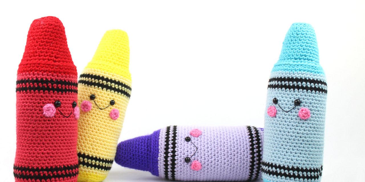 Cute Crayon Amigurumi … Free Crochet Pattern!