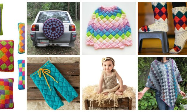 Designer Spotlight: Beautiful Entrelac Patterns For Knitters and Crocheters!