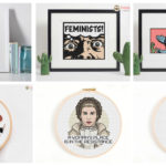 Designer Spotlight: Happy Sloth Cross Stitch Patterns … It's a Pop Culture Extravaganza!