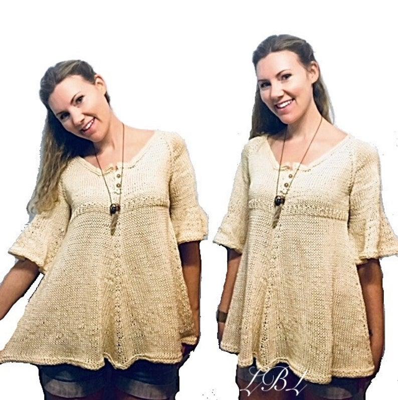 Get the unique knit pattern, designed by Amanda Lee