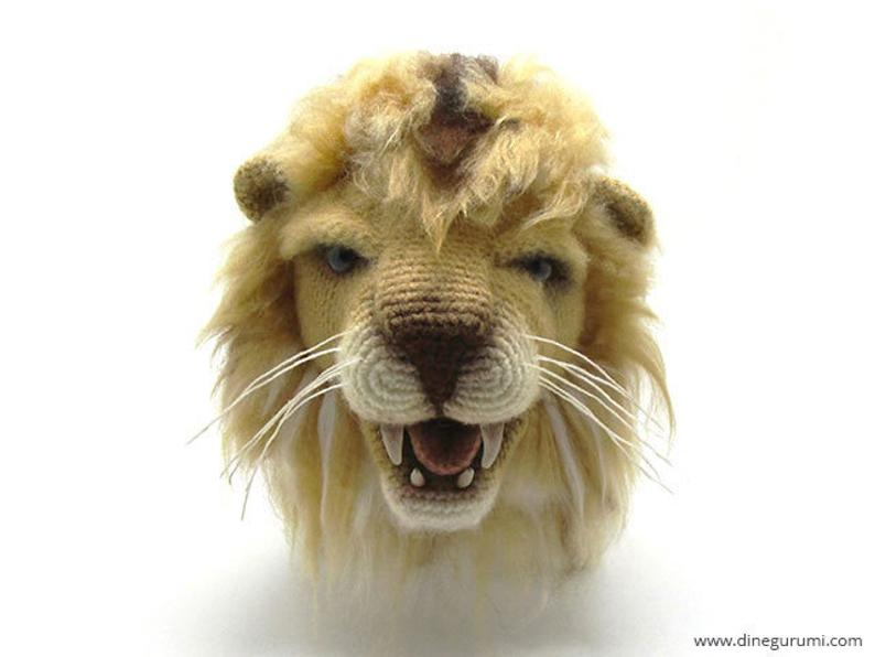 Crochet an Awesome Amigurumi For World Lion Day!