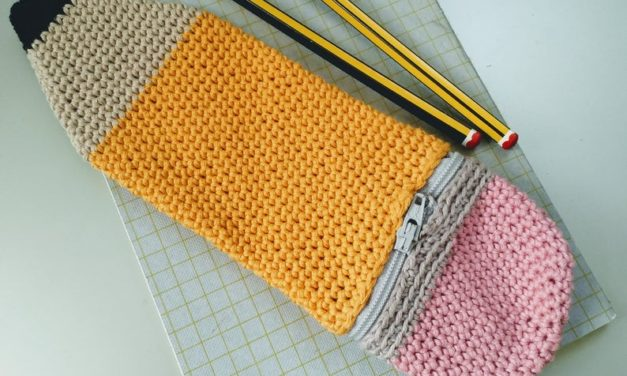 Crochet a Pencil Case That's a Pencil Case … It's Meta-Marvelous, a Perfect Project For Back-To-School