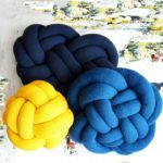 These DIY Knot Pillows Are Totally Swish … Patterns For Knitters & Crocheters!