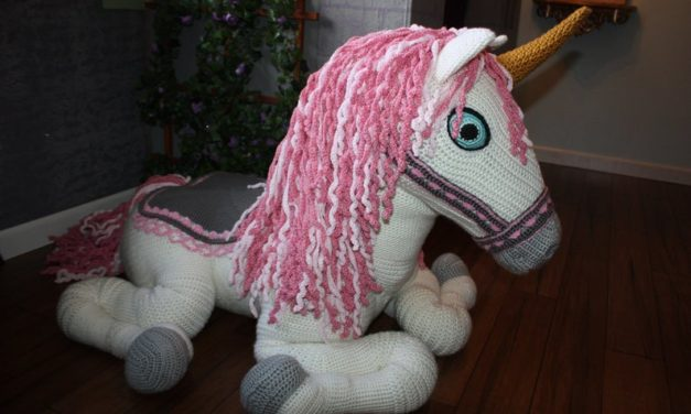 Crochet a Magical Life-Size Unicorn … It's Absolutely Marvelous!