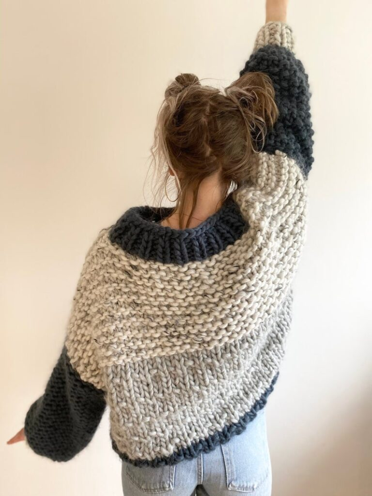 Chunky-Knit Sweater Patterns, Good For Beginner Knitters Too ... Finally Sweater Weather!