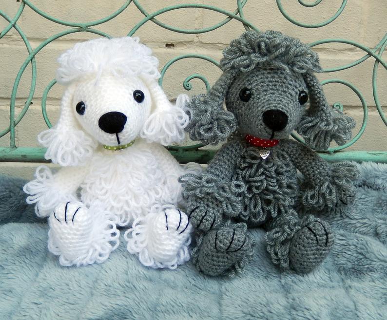 Crochet a poodle! #crochet #amigurumi #poodle
